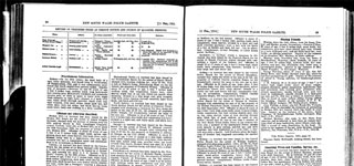 New South Wales, Australia, Police Gazettes, 1914 Record for Myrtle Jane Pleffer