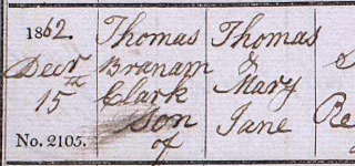 Thomas Brannan Clark SHORT