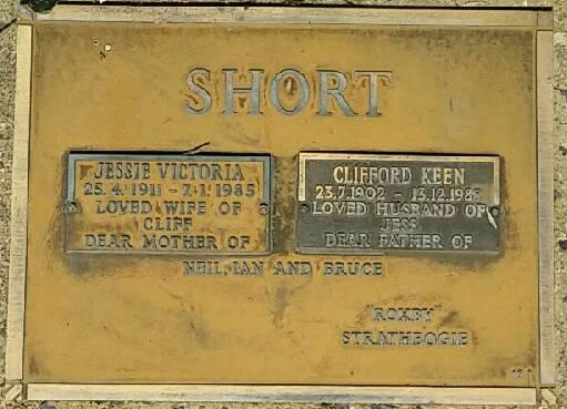 SHORT, Clifford Keen