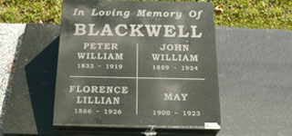 BLACKWELL, John William