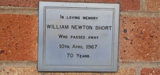SHORT, William Newton