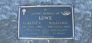 LOWE, William Charles