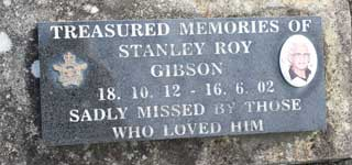 Stanley Roy GIBSON