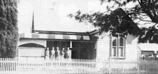LEONARD home at 101 Fry Street, Grafton circa 1940/50