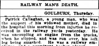 Railway Man's Death