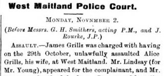 West Maitland Police Court