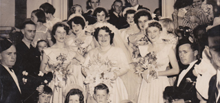 SHORT - WARREN Wedding 1951